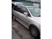 spacewagon 7 seater, declared sorn, no faults excellent runner
