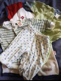 Small bundle of baby clothes up to 3 months