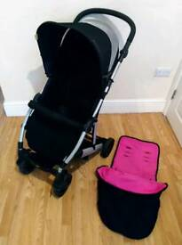 Mamas and papas luna pram pushchair with accessories
