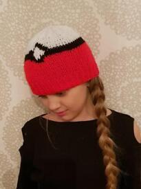 Knitted pokèmon hat
