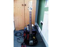 Yamaha ERG 121 Guitar + Line 6 amp & more