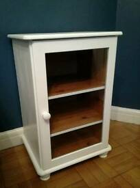Painted pine unit cabinet cupboard media