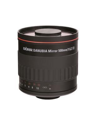 Dörr Danubia Spiegel Teleobjektiv 500mm 6,3 T2 Sony Alpha 37,58,65,77,A100,A200