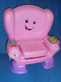 Fisher-Price Laugh and Learn Smart Stages Chair. Pink. + Instructions