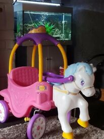 princess horse and carriage