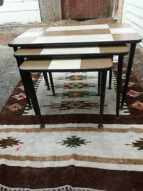 Vintage 50s/60s Nest of Tables
