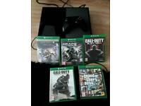 Xbox One 500g + games