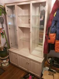 light oak dresser unit