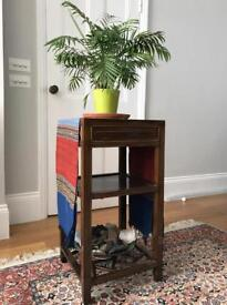 Asian Side Table