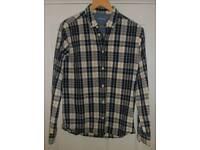 Jaeger long sleeved check shirt M