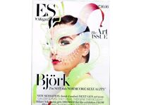 "Bjork - Evening Standard ES Magazine - 7-Oct-2016 - ""I'm NOT into NORMCORE SEXUALITY"""