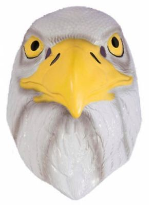 Eagle Plastic Half Mask Bird 4th July Halloween Costume Accessory Prop Patriotic for sale  Shipping to Canada
