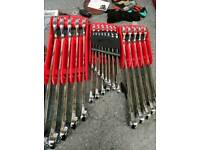 MAC Tools Spanner Set Cost £1000 never used