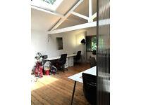 3 to 4 office desks to rent in Creative Studio, Camden Town