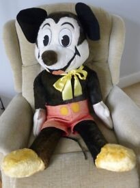 3 foot high Collectable Mickey Mouse 45 yrs old from Disney World Florida