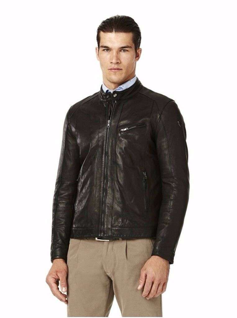 LAMBORGHINI LEATHER JACKET