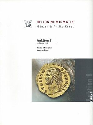 HELIOS NUMISMATIK AUKTION 8 Katalog Münzen Antike Mittelalter Neuzeit Islam 2012