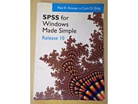 SPSS for Windows Made Simple: 10 by P. Kinnear (2000-12) Paperback