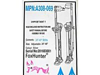 Builders Stilts. For plasterers and decorators. Brand: Foxhunter, model: MPN:A308-069