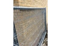 Site fence, security fence, anti climb fence, temporary fence.