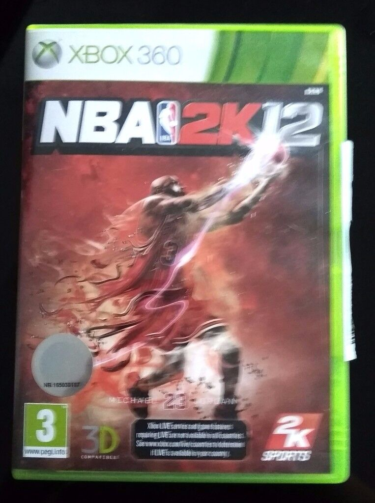 ⛄Xbox 360 Game: NBA 2K12 Jordan Special Edition⛄