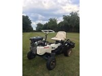 "Allen National Lawn Mower 68"" Cut Cylinder Mower with new Kubuta engine"