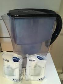 Britta water filter jug with 4 new cartridges