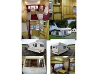 Bailey Caravan 4 berth with Isabella Awning 1994
