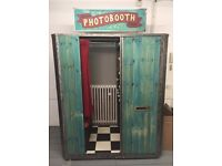 REDUCED - Photobooth | Business | Vintage Photo & Video Booth | Printer | Laptop