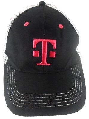 Used, T-Mobile Tuesdays Cellphone Black & Pink Mesh Trucker Snapback Cap Hat for sale  Shipping to India