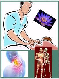 Deep tissue healing massage