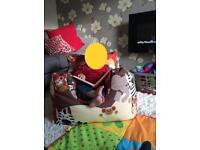 John Lewis kids jungle bean bag chair