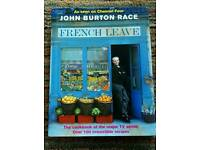 John Burton Race, French Leave hardback book