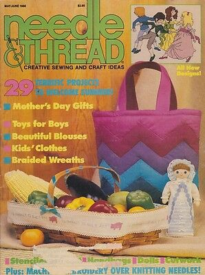 NEEDLE & THREAD May/Jun 1986 29 Project Issue Summer & Mother's Day - Mother's Day Projects