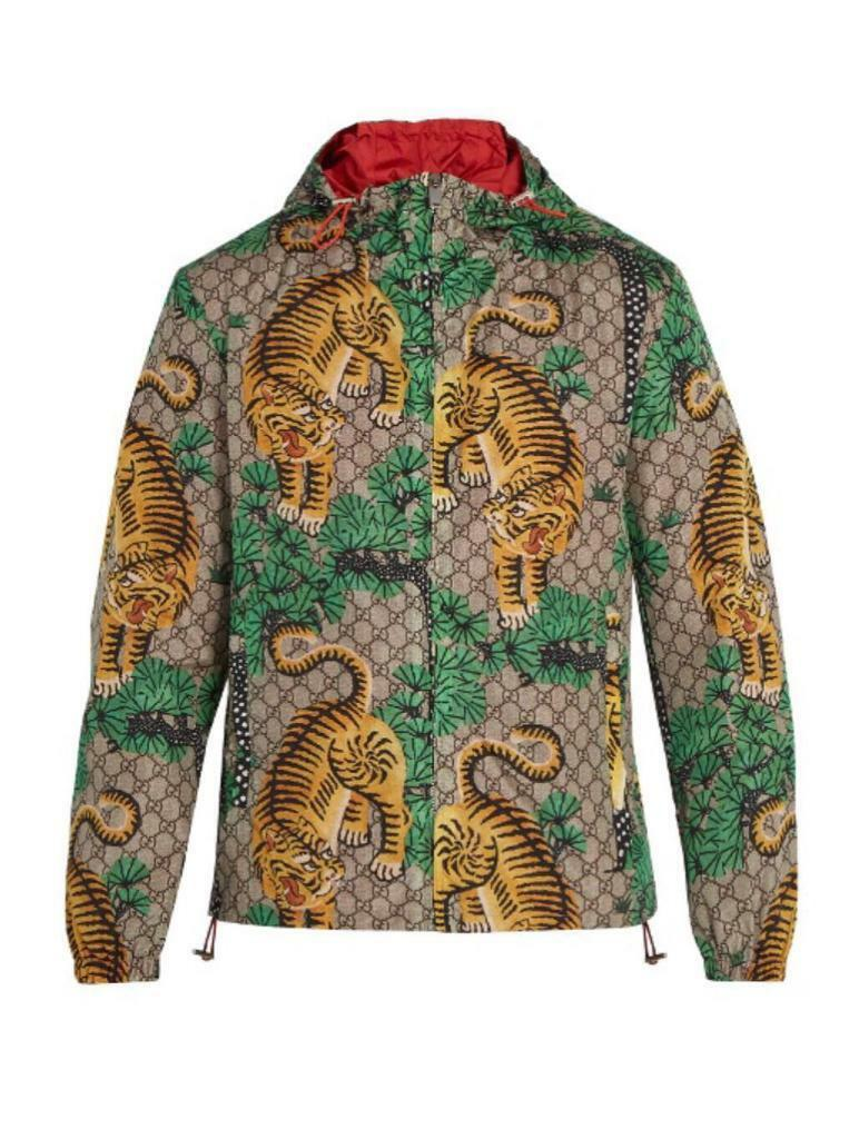 918541f4a Slim Fit Gucci Bengal Tiger Print Jacket Xmas Sale | in Leicester ...
