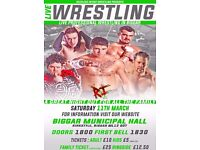 Live Professional Wrestling in Biggar on March 11th