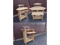 Corner office desk / corner table for computer