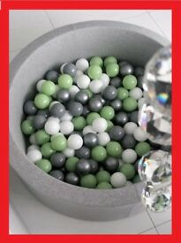 +++ DRY BALL POOL, DESIGNED AND MODERN, SAFETY FOR YOUR LITTLE STAR +++