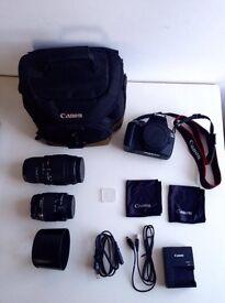 Canon EOS 1200D + full pack £399