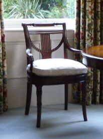 Pair of Occasional Chairs Dining Chairs Theodore Alexander