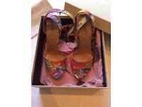 Stella McCartney Floral Print Platform Sandals size 39