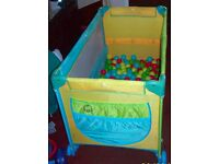 Play Pen Come Travel cot