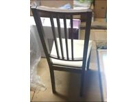 4 x Ikea Borge chairs