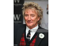 FRONT ROW ROD STEWART SEATS 02 ARENA LONDON feb 27th