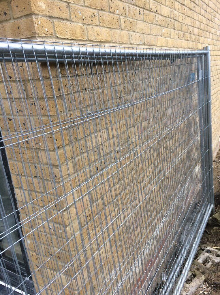 fence panel anti climb temporary metal fence panel feet in