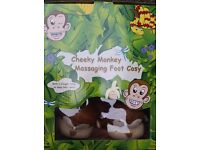 Cheeky Monkey Massaging Foot Cosy Unused Collection by 31/07/16