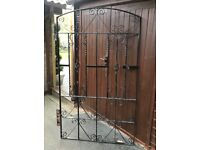 Metal gate strong made