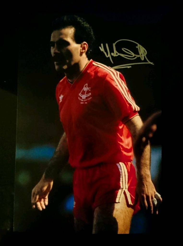Willy Miller hand signed A4 Aberdeen photo with Coa