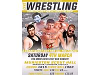 Live Professional Wrestling in Livingston on March 4th