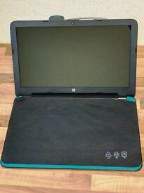 "NEW HP Laptop QuadCore 4GB 1TB HDD 15.6"" Laptop Green RRP £349"